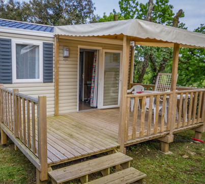 location mobil home royan